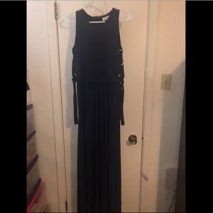 Michael Kors Long Navy Blue Dress